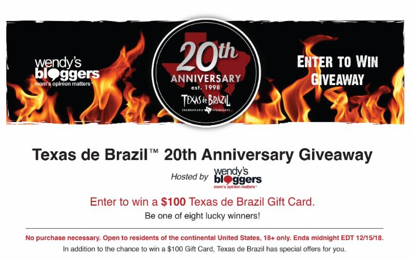 Texas De Brazil 20th Anniversary