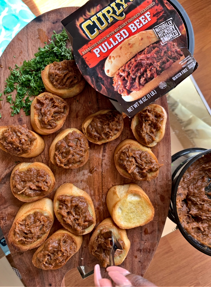Curly's' Pulled Beef
