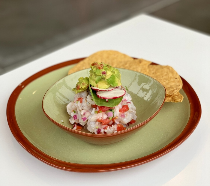 healthy ceviche